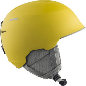 Alpina Maroi Casco Niños, curry-grey matt